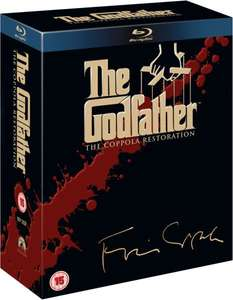 Blu-ray Box - The Godfather Trilogy: Coppola Restoration (4 Discs) für €18,94 [@Zavvi.com]