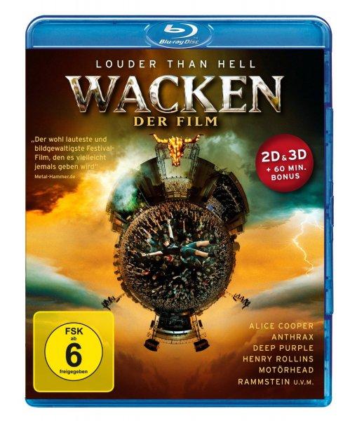 Wacken: Louder Than Hell - Der Film 3D Blu-ray [12,99€ mit PRIME]