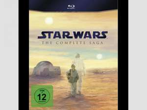 [saturn] Star Wars Complete Saga auf Blu-ray ab 61€