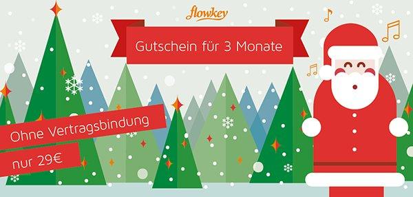 flowkey 3 Monate Gutschein für 29 € statt 42 € Klavier/Keyboard spielen lernen