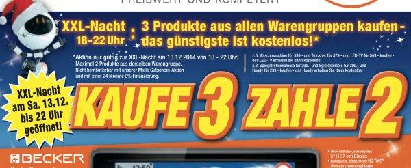 Kaufe 3 Zahle 2 (lokal) Elektroland Heidenheim