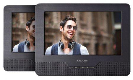 ODYS Seal 7 - portabler DVD-Player mit zusätzlichem Display - neuwertige geprüfte B-Ware