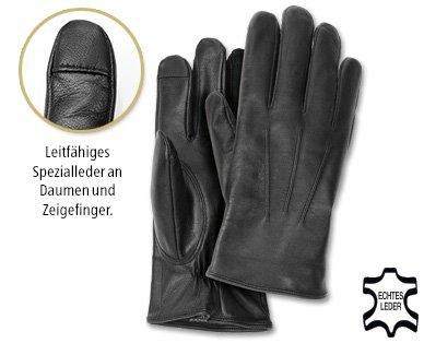 Smartphone-Lederhandschuhe (Aldi-Süd ab 18.12.)