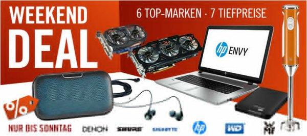 Cyberport Weekend Deal - Ersparnis von 2,01 € bis 57,00 €