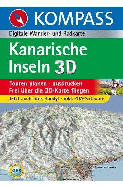 Kompass Digital Karten Sale (verschiedene Titel zur Auswahl - z.B. Kanaren und Balearen)