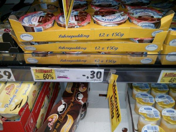 Landliebe Sahnepudding: mit scondoo bis zu 20 Cent Gewinn [Kaufland Paderborn]