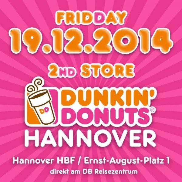 Dunkin Donuts 60 6er Boxen gratis Hannover