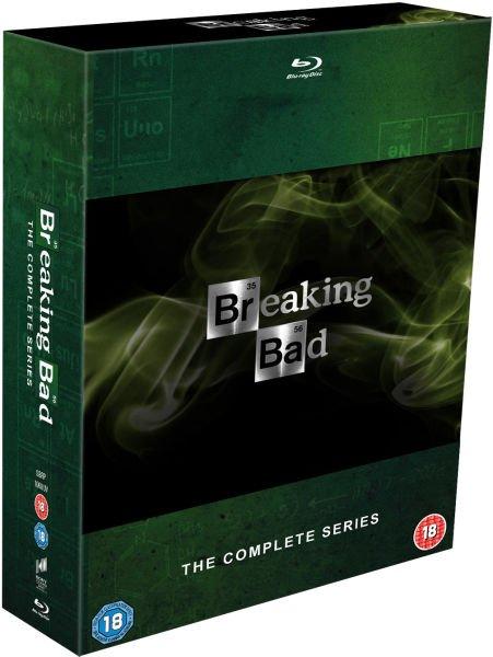 Zavvi Breaking Bad Staffel 1-5 [Blu-Ray] für 57,60€