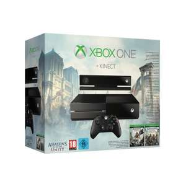 [ebay.de] Xbox One 500 GB inkl. Kinect + 2 Spiele: Assassins Creed IV & Unity für 379 € inkl. Versand / idealo 445 €