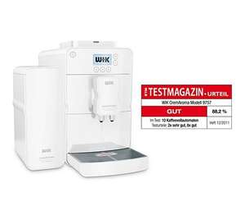 WIK 9757W.1 Kaffeevollautomat ,Testmagazinurteil : Gut , für 299,86 bei Plus