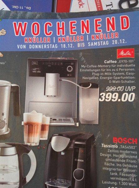 [Marktkauf Stukenbrock] Melitta Caffeo E970-101 Kaffeevollautomat