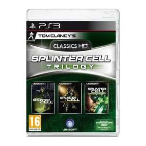 Tom Clancy's Splinter Cell Trilogy HD [PS3] für 22.49€ @play.com
