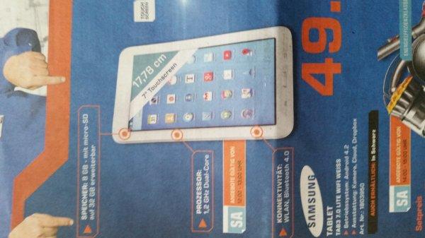 Saturn (Lokal Ingolstadt? ) Samsung Tab3 Lite