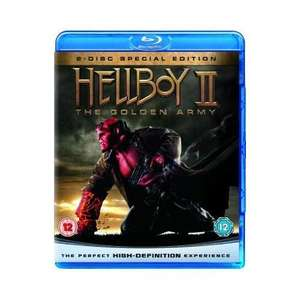 Hellboy 2 - The Golden Army - Special Edition [2  Disk-Blu-Ray + DVD]für 6.49€ @ play.com