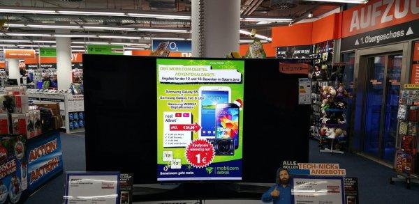Saturn Jena - offline - Samsung Galaxy S5 + Galaxy Tab 3 Lite + Samsung Smart Kamera mit Vertrag für effektiv 9,88€/mtl.