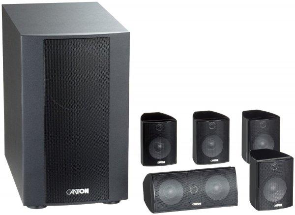 [Amazon Blitzangebot] Canton Movie 125 MX 5.1 Lautsprecher-System schwarz