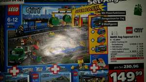 Lego City Zug Superset 4 in 1