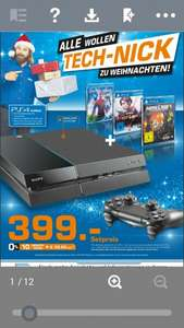 PS4  Bundle mit 1 Controller + 2 Spiele (Minecraft + infamous first light) + Blu-ray  The Amazing Spiderman 2
