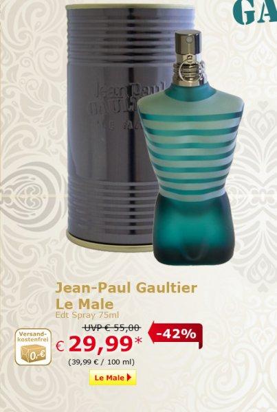 29,99 @ Gaultier Le Male Eau de Toilette (75 ml) @ Netto o. H. / Bundesweit?