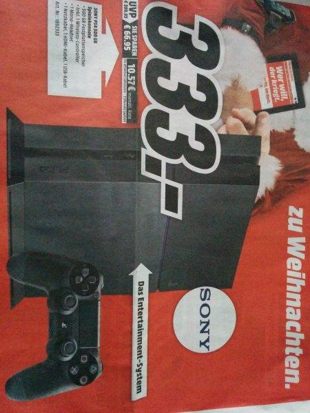 (Lokal?) Sony PlayStation 4 - 333€ (MM Nienburg)