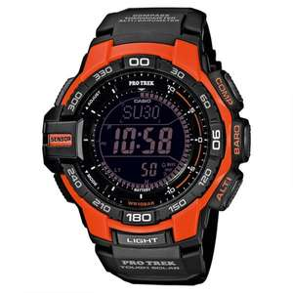 Casio Outdooruhr Pro Trek Wheeler Peak PRG-270-4ER für nur 129,00€ bei Uhr.de