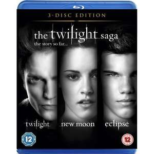 The Twilight Saga: Triple Pack (3 Discs) (Blu-ray) - englisch