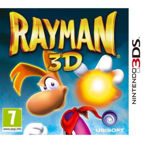 Nintendo 3DS - Rayman 3D [@TheHut.com]