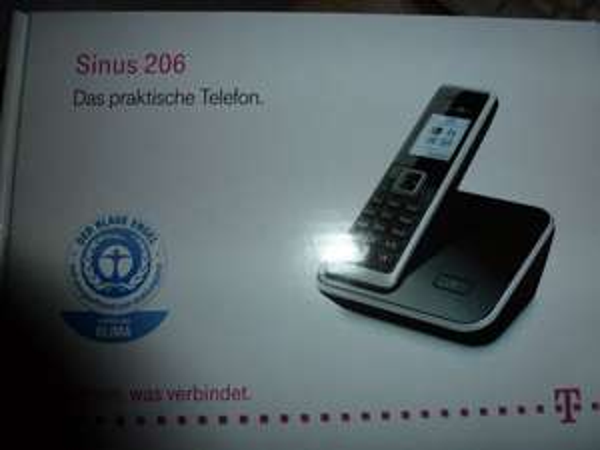 evlt. nur lokal - Mediamarkt Leipzig im P.C. - TELEKOM Sinus 206 Single für 15,- Euro 40% Ersparnis