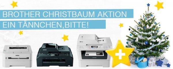 drucker-guenstiger.de - Brother Drucker + Christbaum gratis