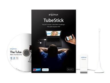 Gravis-Sonderangebot: equinux TubeStick Special Edition TV Tuner, inkl. MediaCentral 2
