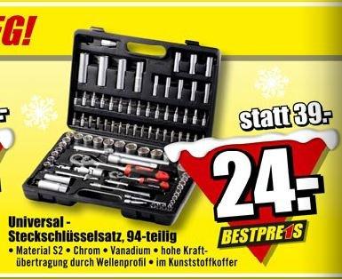 95-teiliger Werkzeugkoffer bei B1-Discount