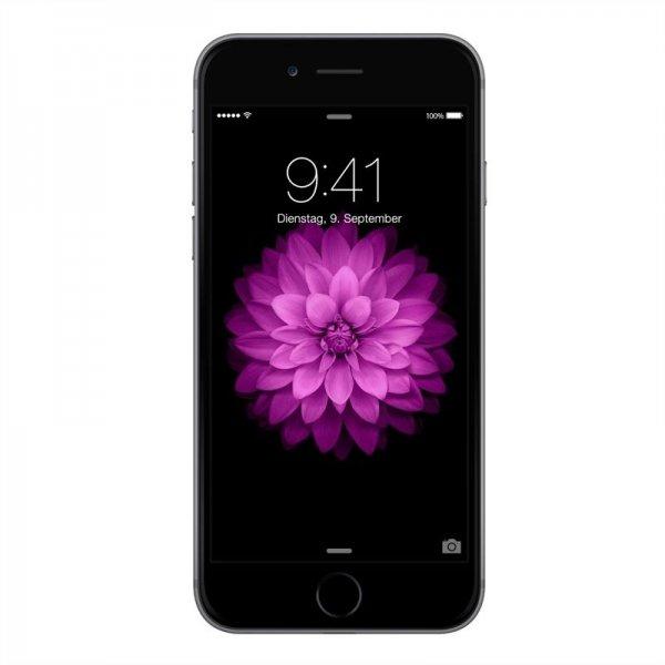 619€ // Apple iPhone 6 16GB Smartphone 4G LTE Retina 4.7 Zoll Display iOS 8, Grau