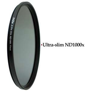 DolDer X-Pro Series Slim Neutral Graufilter ND 1000 58/62/67/72/77mm
