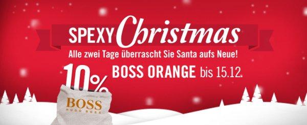 Mister Spex - 10% Rabatt auf alle Boss Orange Brillen - nur bis einschließlich 15.12.2014