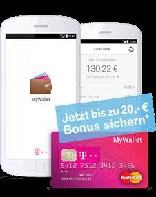 Prepaid Mastercard + NFC Chip mit 10.-€ Guthaben.
