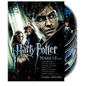 Harry Potter Years 1-7 Teil 1 Geschenk-Set