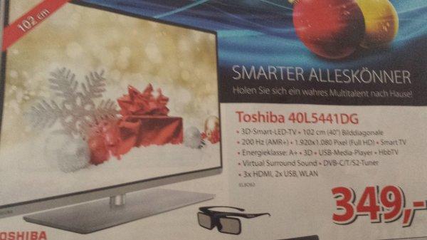(offline?) Toshiba 40L5441DG 349 € bei alternate (idealo 379)