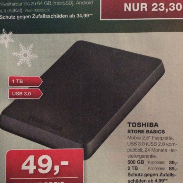 [Staples] Toshiba Store Basics 1 TB