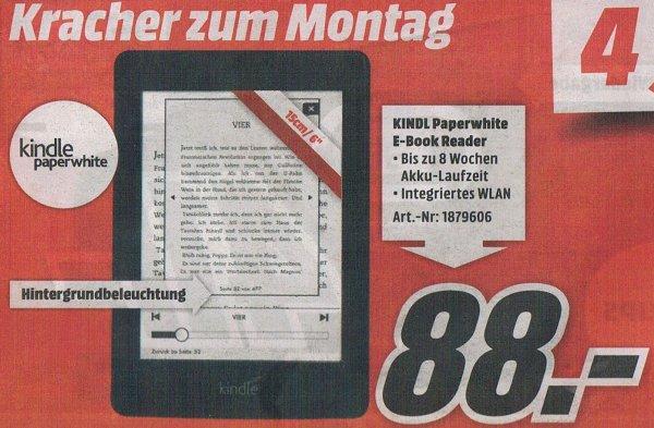 [LOKAL MM] Kindle Paperwhite WLAN 88,- €