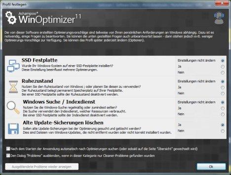 WinOptimizer 11: Tuning-Vollversion gratis