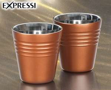 [ALDI SÜD] 2 Espresso oder Kaffee Becher (Nespresso Nachbau)