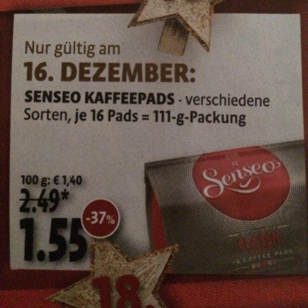 [NRW] Kaisers Senseo Kaffee 16 Pads 1,55€ am 16.12