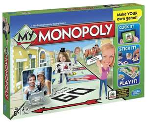 Hasbro A8595100 - My Monopoly, Familien-Brettspiel, englische Version für 8,19 Euro (Versand 6,59 Euro) @Amazon.co.uk