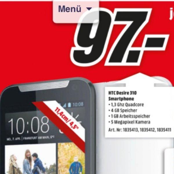 HTC Desire 310 f. 97€ [Lokal] MM Mönchengladbach