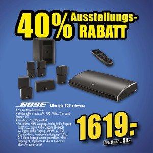 [Lokal EM/Müllheim Flösch] Bose Lifestyle 525 oder 235 schwarz - statt 2499€ nur 1619€ Ausstellungstück