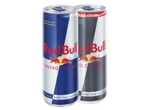 Red Bull Energy Drink bei Lidl ab Donnerstag 18.12. für 0,99€!