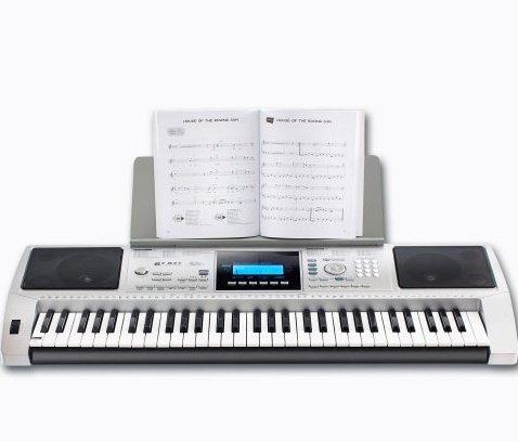 Aldi Nord ab 15.12.14: Musik-Keyboard, 61 anschlagdynamische Standardtasten, USB-Midi-Out
