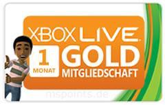 Xbox Live Gold - 1 Monat 1 Euro