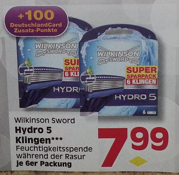 [Lokal Berlin/Brandenburg] Wilkinson Sword Hydro 5 Klingen 6 Stück 7.99€ - 1.99€ Coupies @ Edeka Reichelt