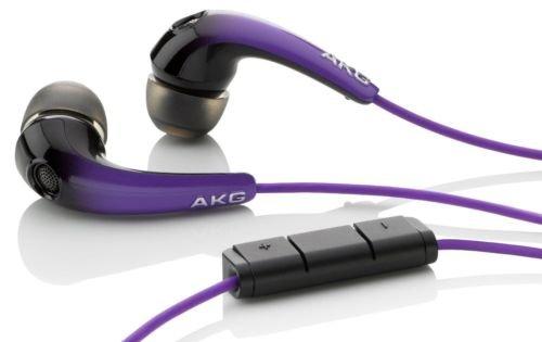 AKG K328 In-Ear Kopfhörer Lila mit Mikrofon & Fernbedienung [eBay]